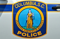 Columbia Police Department's Shield - Old Decals