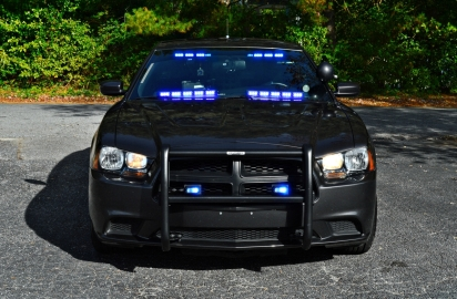 """2013 Dodge Charger - New Decals """"K-9 Unit"""" [Front]"""