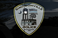 Simpsonville Police Department's Shield