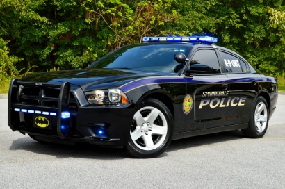 """2014 Dodge Charger - New Decals """"K-9 Unit"""""""