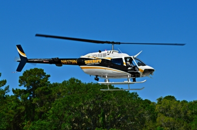 Charleston County Sheriff's Office Bell OH-58 Kiowa