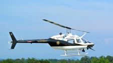 Pickens County Sheriff's Office Bell OH-58C Helicopter