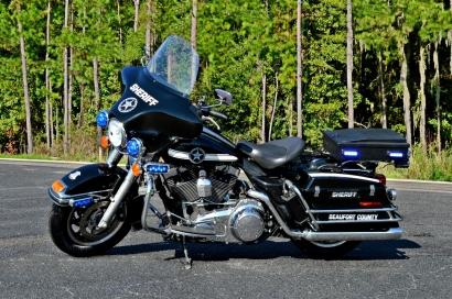 Beaufort County Sheriff's Office Harley-Davidson Electra Glide