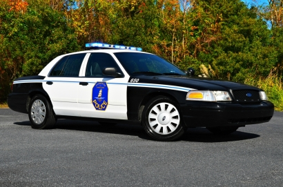 2011 Ford CVPI - Old Decals