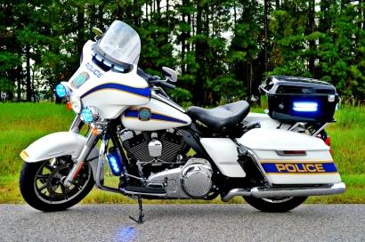 Columbia Police Department Harley-Davidson Electra Glide