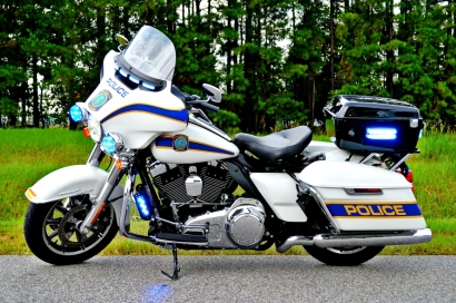 Columbia Police Department's Harley-Davidson Electra Glide