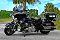 North Charleston Police Department Harley-Davidson Electra Glide (New Decals)