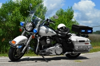 North Charleston Police Department Harley-Davidson Road King (Old Decals)