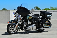 Summerville Police Department's Harley-Davidson Electra Glide (Old Decals)