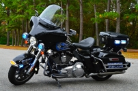Summerville Police Department's Harley-Davidson Electra Glide (New Decals)