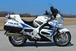 Sumter Police Department's Honda ST1300PA