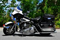 Charleston Police Department's Harley-Davison Electra Glide (Old Decals)