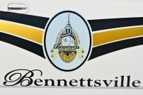 Bennettsville Police Department's Shield - Old Decals