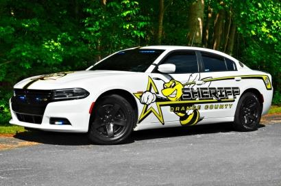 Orange County Sheriff's 2016 Dodge Charger - Super Bee Decals (North Carolina)