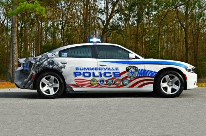 2018 Dodge Charger - Veteran Tribute Graphics