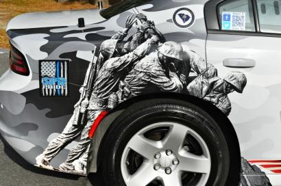 Image commemorating the Battle of Iwo Jima