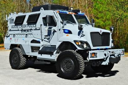 Goose Creek Police Department's MRAP MaxxPro