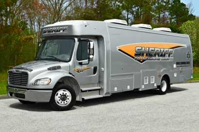 "Orangeburg County Sheriff's Office Freightliner M2 ""Mobile Command Center"""