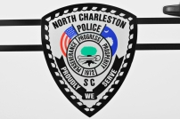 North Charleston Police Department's Shield - Old Decals