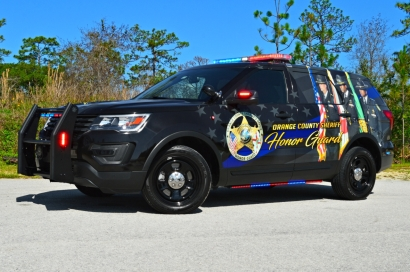 Orange County Sheriff's Office 2017 Ford Utility - Honor Guard Unit (Florida)