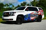 "Osceola County Sheriff's Office 2018 Chevrolet Tahoe - ""D.U.I. Enforcement M.A.D.D. Decals"" (Florida)"