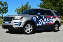 """Shepherdsville Police Department's 2016 Ford Utility - """"D.A.R.E Decals"""" (Kentucky)"""