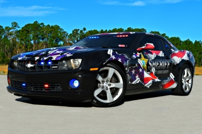 St. John County Sheriff's Office 2010 Chevrolet Camaro SS - Patriotic Decals (Florida)