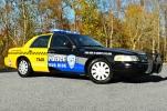 2011 Ford CVPI - D.U.I. Taxi Cab Decals