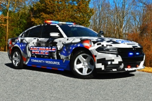 Archdale Police Department's 2017 Dodge Charger - Community Resource Decals (North Carolina)