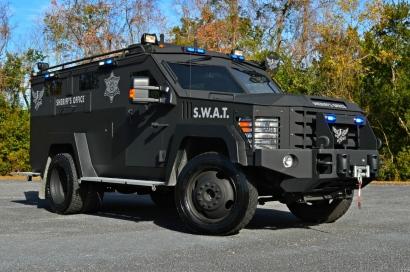 Charleston County Sheriff's Office Lenco BearCat G2