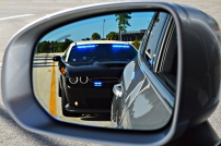Florida Highway Patrol's 2020 Dodge Challenger on a Traffic Stop.