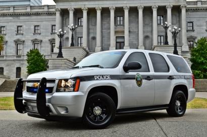"Bureau of Protective Service's 2014 Chevrolet Tahoe - New Decals ""K-9 Unit"""