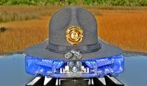 South Carolina Highway Patrol's Campaign Hat