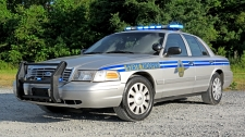 South Carolina Highway Patrol's 2011 Ford CVPI