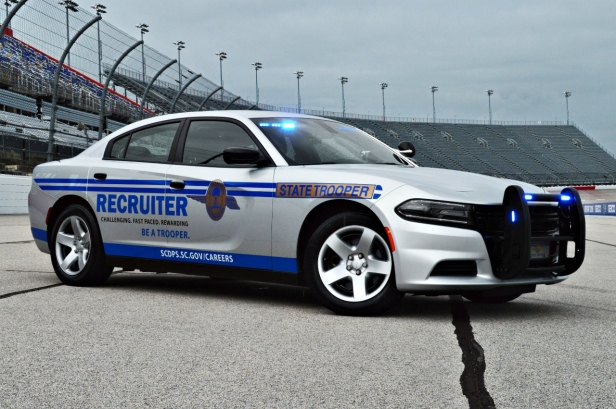 2019 Dodge Charger - Recruitment Decals