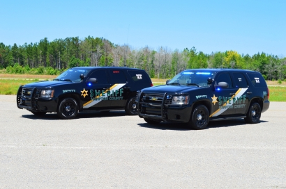 "Hampton County Sheriff's Office 2010 Chevrolet Tahoe - New Decals ""K-9 Unit"""