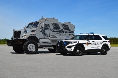 Lancaster County Sheriff's Office MRAP and 2020 Ford Utility
