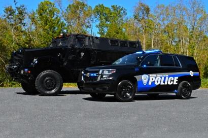 North Charleston Police Department's MRAP & Target Zero Unit
