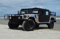 Isle of Palms Police Department's Humvee