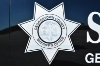 Georgetown County Sheriff's Office Shield New Decals