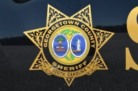 Georgetown County Sheriff's Office Shield Old Decals