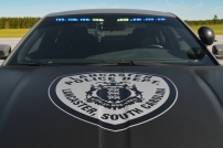 Lancaster Police Department's Hood Decal