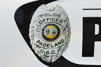 Pageland Police Department's Shield