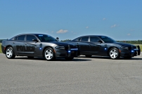 Cottageville Police Department's Dodge Chargers