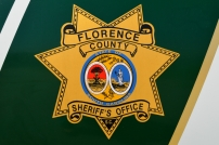 Florence County Sheriff's Office Shield - Old Decals