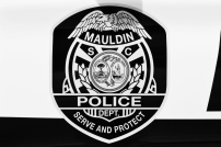Mauldin Police Department's Shield - New Decals