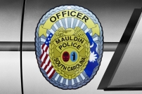 Mauldin Police Department's Shield - Old Decals