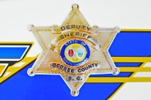 Oconee County Sheriff's Office Shield - Old Decals