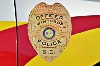 Winthrop University Police Department's Badge